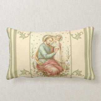 Almofada Lombar Coroação de St Joseph por Jesus