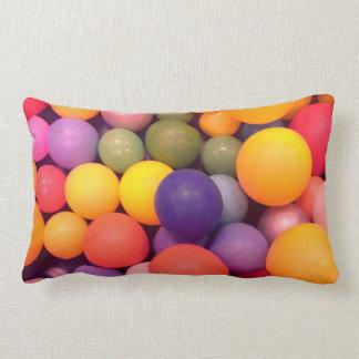 Almofada Lombar Coxim colorido do teste padrão do poço da bola do