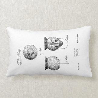 Almofada Lombar Coxim da patente de Latern da abóbora