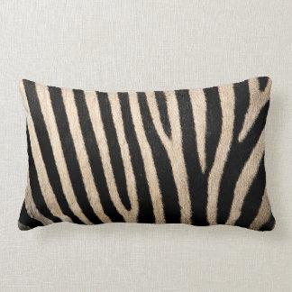 Almofada Lombar Coxim lombar do lance da coleção da pele da zebra