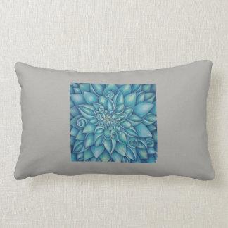 Almofada Lombar Dália azul