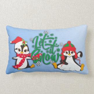 Almofada Lombar Deixais lhe para nevar pinguins