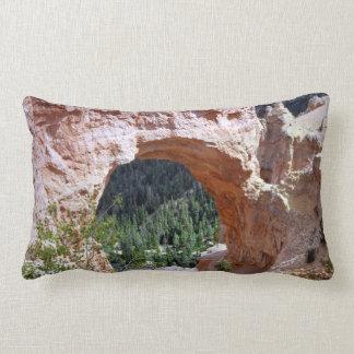 Almofada Lombar Deserto vermelho da garganta do arco da rocha de