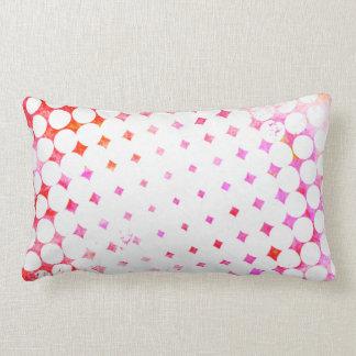 Almofada Lombar Design de explosão cor-de-rosa da banda desenhada