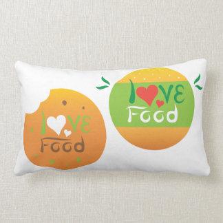 Almofada Lombar Design do travesseiro do design do dobro da comida