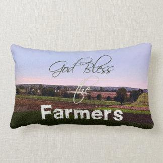 Almofada Lombar Deus abençoe o travesseiro dos fazendeiros