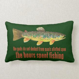 Almofada Lombar Dizer velho da pesca