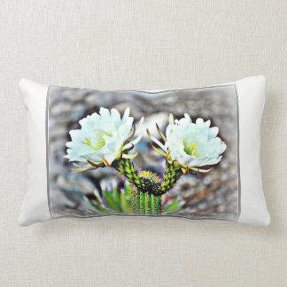 Almofada Lombar Dobro lombar do travesseiro do algodão flor do
