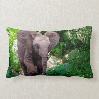 Almofada Lombar Elefante e selva