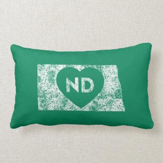 """Almofada Lombar Eu amo o travesseiro lombar 13"""" do estado de North"""