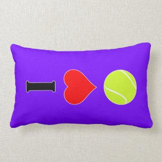 Almofada Lombar Eu amo o travesseiro lombar do tênis (do coração)