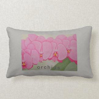 Almofada Lombar Eu gosto de orquídeas, eles tenho flores bonitas