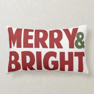 Almofada Lombar Feliz reversível e travesseiro decorativo