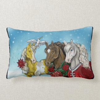 Almofada Lombar Feriado Horses~pillow