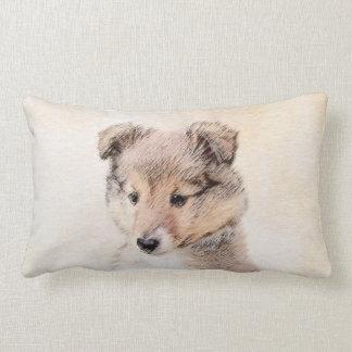 Almofada Lombar Filhote de cachorro do Sheepdog de Shetland
