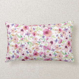 Almofada Lombar Fluxo - LONDRES - coxim floral/travesseiro de
