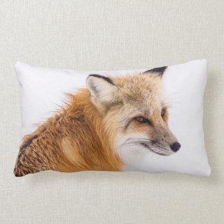 Almofada Lombar Fox vermelho na neve