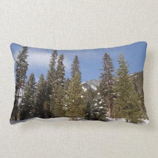 Almofada Lombar Fugas de montanha de Montana na foto da paisagem