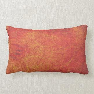 Almofada Lombar fundo abstrato da laranja