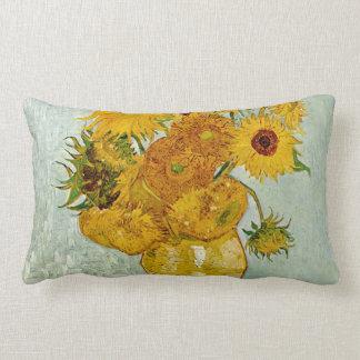 Almofada Lombar Girassóis de Vincent van Gogh