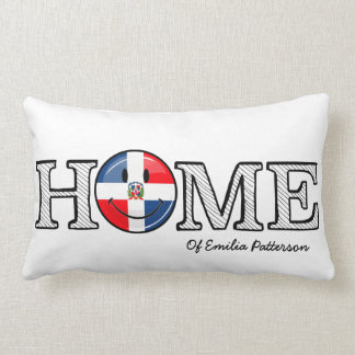 Almofada Lombar Housewarming de sorriso da bandeira da República