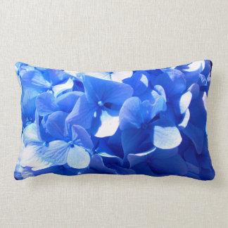 Almofada Lombar Hydrangeas dos azuis cobaltos