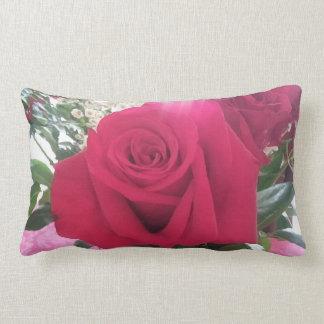 Almofada Lombar Imagem lindo da rosa vermelha