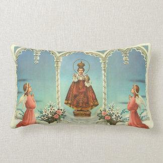 Almofada Lombar Jesus infantil de Praga w/angels