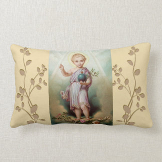 Almofada Lombar Jesus infantil que guardara o mundo