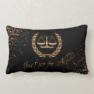 Almofada Lombar Justiça para tudo - design do advogado