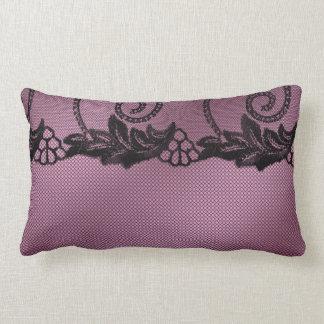 Almofada Lombar Laço cor-de-rosa do Reversible decorativo lombar