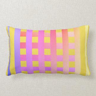 Almofada Lombar Lance Travesseiro-Projetado em cores brilhantes &