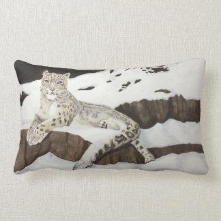Almofada Lombar Leopardo de neve