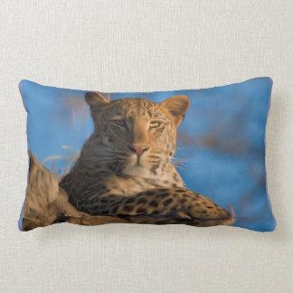 Almofada Lombar Leopardo na rocha
