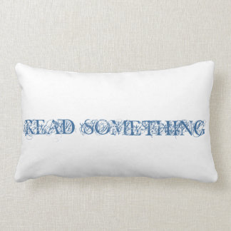Read Something Pillow
