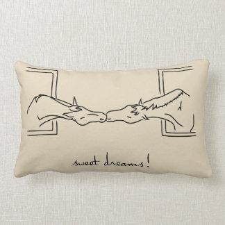 Almofada Lombar Linhas do pônei - sonhos doces! Travesseiro