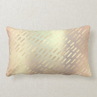 Almofada Lombar Linhas mais foxier metálicas travesseiro das