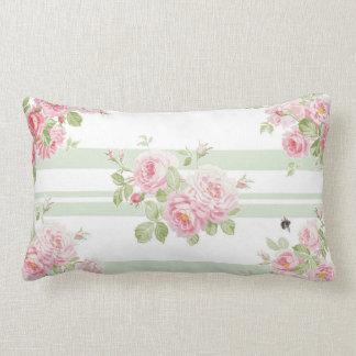 Almofada Lombar Listra da manjericão dos rosas do verão do