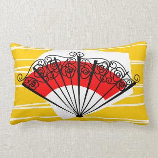 Almofada Lombar Lumbar espanhol do travesseiro do fã