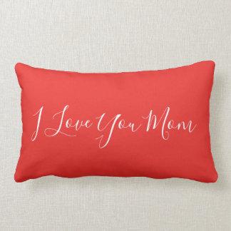 Almofada Lombar Mamã moderna do costume eu te amo
