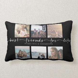Almofada Lombar Melhores amigos para a tipografia da foto de