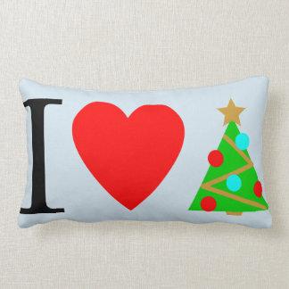 Almofada Lombar Mim travesseiro do Natal do coração