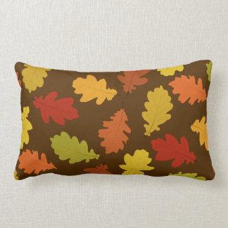 Almofada Lombar O carvalho da queda sae Brown do travesseiro