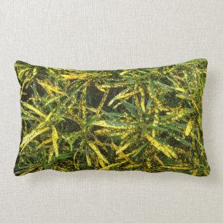 Almofada Lombar O dobro colorido do Croton tomou partido coxim