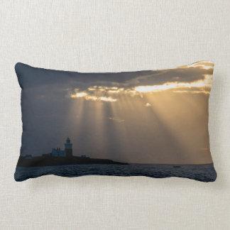 Almofada Lombar O nascer do sol sobre Coquet o travesseiro/coxim