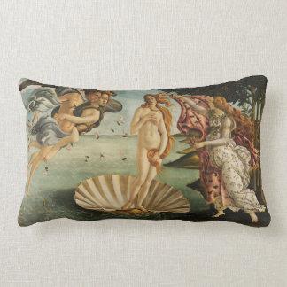 Almofada Lombar O nascimento da arte de Botticelli do coxim de