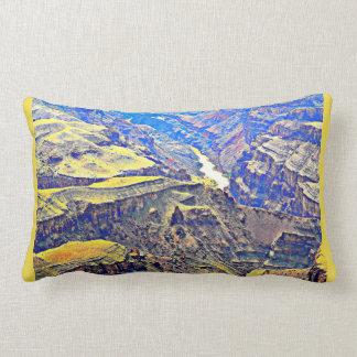 Almofada Lombar O Rio Colorado no travesseiro decorativo do Grand