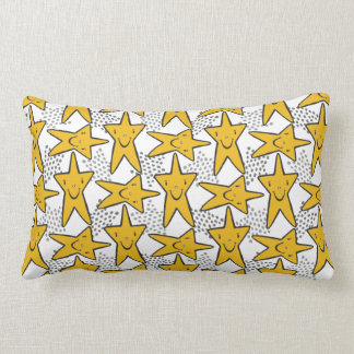 Almofada Lombar O smiley Stars travesseiros decorativos