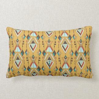 Almofada Lombar Ornamento asteca tribal étnico do vintage