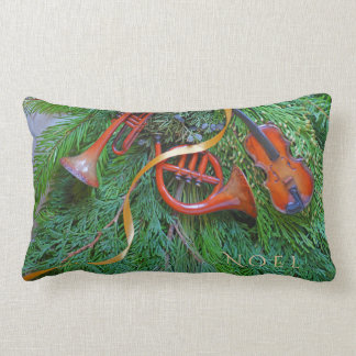 Almofada Lombar Ornamento musicais no lumbar das hortaliças